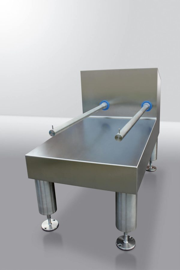 Flow weighing system
