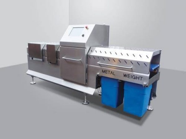 Metal detection, label inspection and checkweighing system