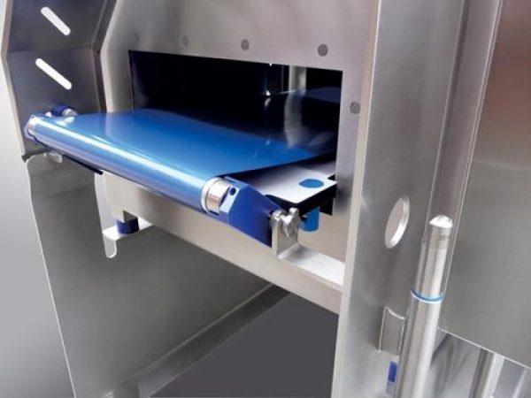 Metalldetektions-, Etiketteninspektions-und Kontrollabwägung