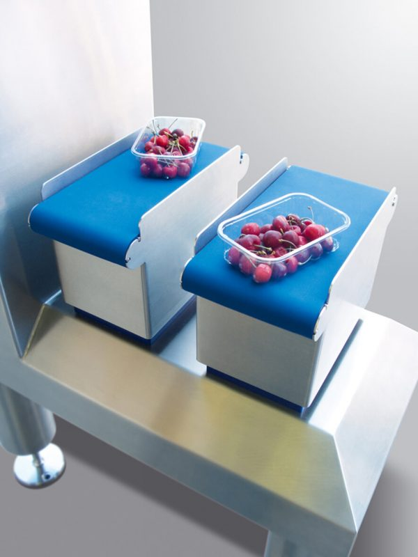 Cerries on mini control checkweigher