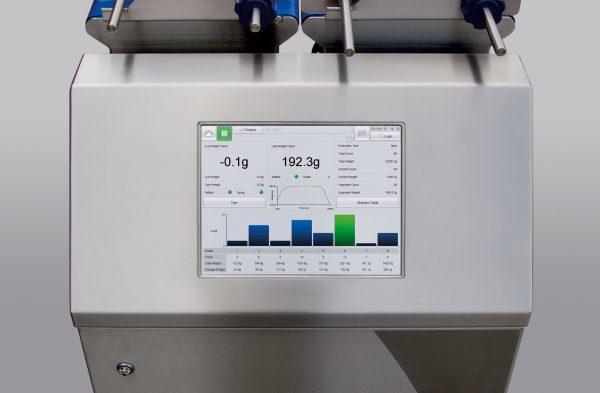 Net weight grading system