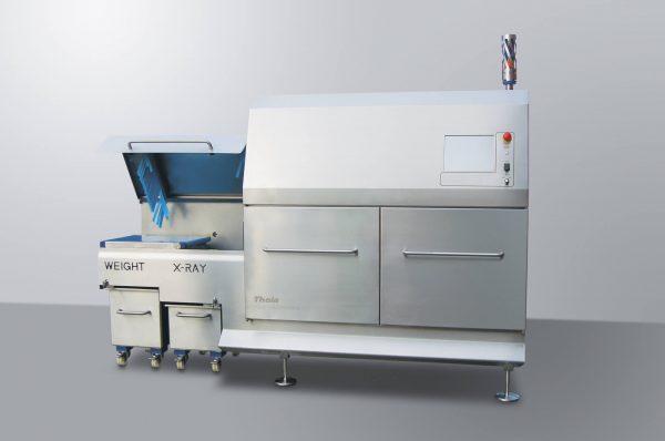 Kombinierendes Röntgen-und Kontrollwaage