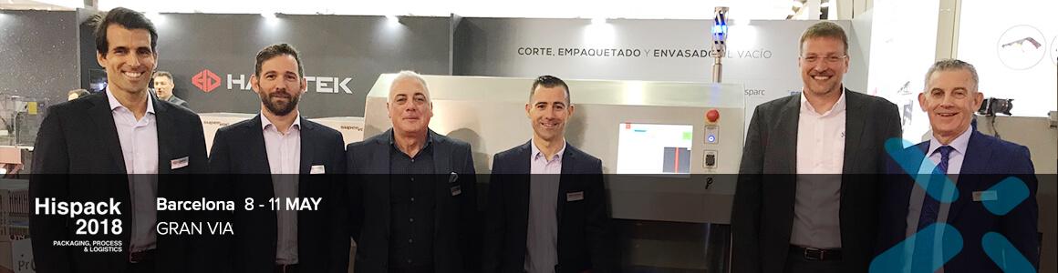 Spanischer Start mit Haratek bei Hispack 2018