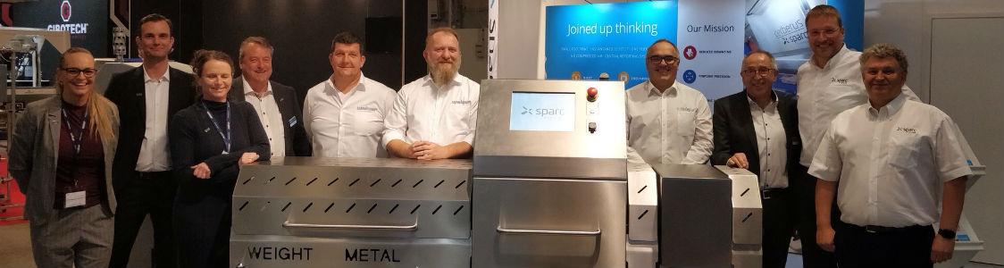 Sparc Systems kündigt erfolgreichen Start der Kooperation mit Weber Dänemark auf der FoodTech 2018 in Herning an